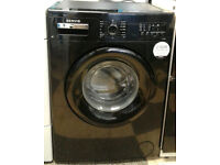 a596 black servis 7kg 1200spin A+ rated washing machine comes with warranty can be delivered