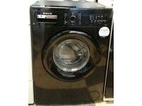 596 black servis 7kg washing machine comes with warranty can be delivered or collected