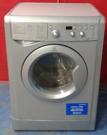 f519 silver indesit 7kg&5kg 1400spin washer dryer comes with warranty can be delivered or collected