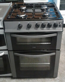 E240 graphite logik 60cm gas cooker comes with warranty can be delivered or collected
