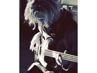 BASS! Tall and groovy bass player needs some rhythm and high end to combine with! (In Cardiff)