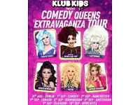 2 x standing tickets for Queens of Comedy (feat RuPaul's Drag Race favourites Bianca Del Rio, Katya)