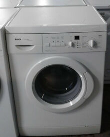 a208 white bosch 6kg 1200spin washing comes with warranty can be delivered or collected