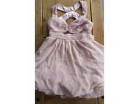 Pink babydoll Pixie Lott lipsy dress