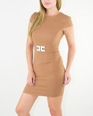 Elisabetta Franchi Brand Elegant Dress from Italy