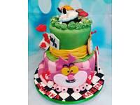Children birthday cakes - Christening - Wedding Naked cakes - Birthday cakes -Croquembouche
