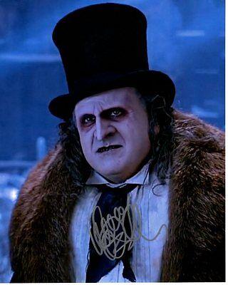 Danny Devito Signed Autographed Batman Returns Penguin Oswald Cobblepot Photo