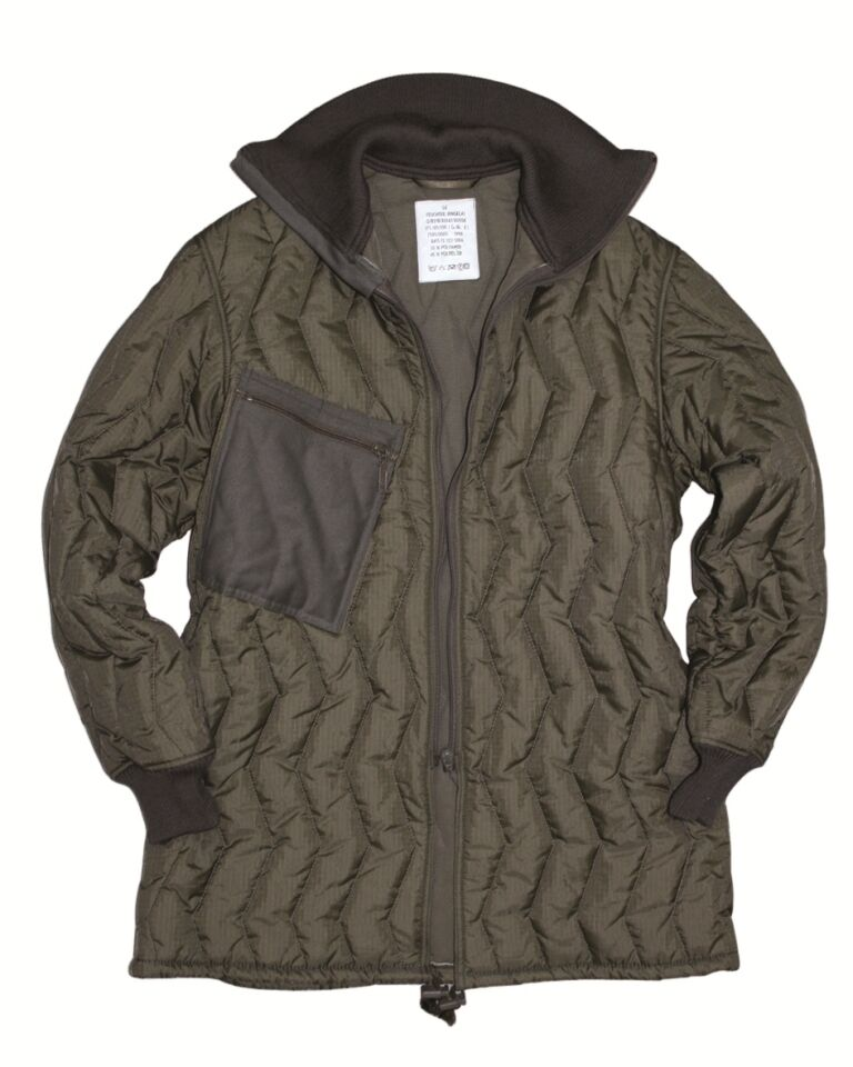 89d2d50af2 German Army Issue Surplus Quilted Cold Weather Jacket Liner GRADE 1 ...