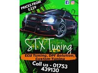 STX TUNING - FORD REMAP SERVICE – C-MAX FIESTA FOCUS MONDEO GALAXY S-MAX ST RS TDCI DPF REMOVAL EGR
