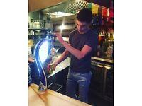 Barman and barista - Italian Canada Water Cafe - to £9.50