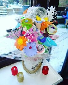 Beautiful Colourful Handmade Bouquet