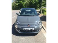 Fiat 500 Lounge 3dr, Grey, 65 plate