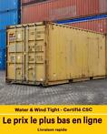 Conteneurs 20 pieds d'occasion  | Container maritime 20' Dry