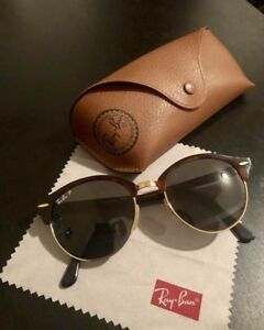 Brand new Ray-Ban clubround classic sunglasses - polarized