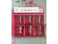 New any name shot glasses for hen night.. Ect (can post)