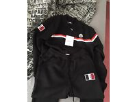 Small men's clocler tracksuit in black with tags still on never been worn great condition
