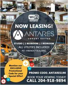 Antares Luxury Suites - 1 Bedroom Apartment for Rent