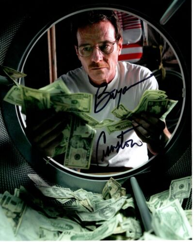 BRYAN CRANSTON signed autographed BREAKING BAD WALTER WHITE 8x10 photo