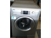 b212 silver beko 8kg 1200spin A+ rated washing machine comes with warranty can be delivered