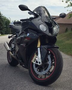 2010 BMW S1000RR Black Storm Metallic