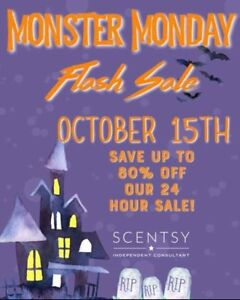 Scentsy Sale Online Today!!