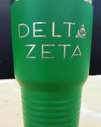 Delta Zeta 30oz Tumbler