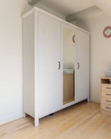 IKEA wardrobe (with glass door)