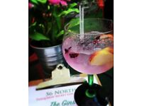 56 North - Bar & Floor staff required for award winning gin bar - Immediate start available
