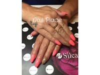 Nail extensions Autumn offers