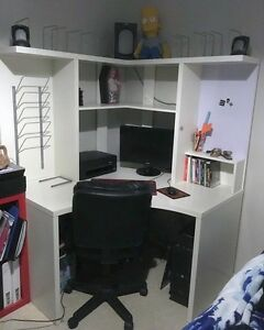 Ikea Corner Desk with speakers. Banksia Grove Wanneroo Area Preview
