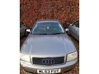 Audi A6 Estate 1.8l turbo Silver