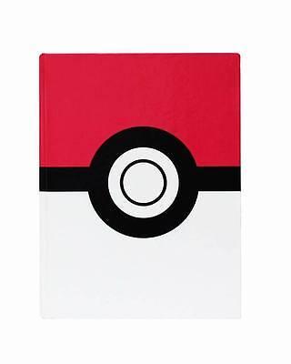 Pokemon Pokeball Hard Cover Journal Note Book ](Pokemon Notebook)
