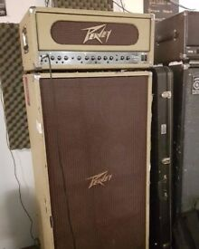 Peavey Classic 400 valve bass head and matching tweed 8x10 bass cabinet