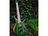 Electric guitar Skervesen Swan Multiscale 7 Replica