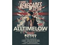 All Time Low - Alexandra Palace London - Saturday 17 March 2018