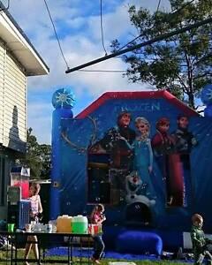 Frozen and Superhero Themed Jumping Castle Hire Parkinson Brisbane South West Preview