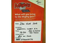 charity quiz night = the mighty quiz - alzheimers research uk