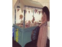 Sweet and Candy Cart Hire, perfect for all weddings and events!