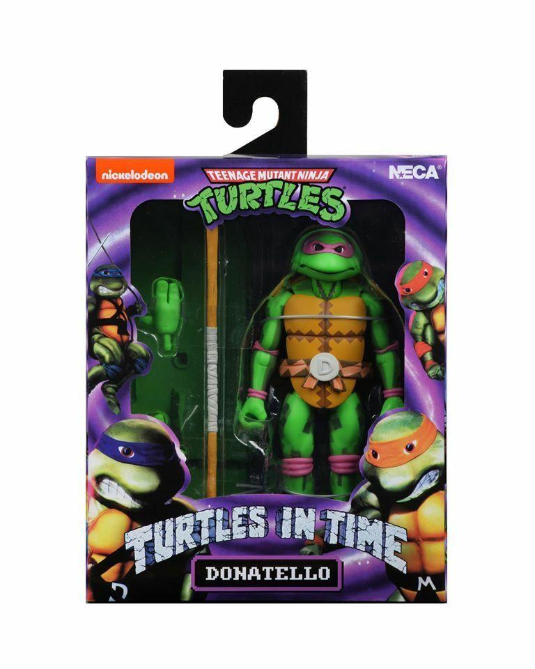 """NECA Teenage Mutant Ninja Turtles TMNT 7/"""" Action Figure  Model Donatello ##"""