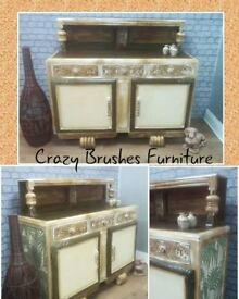 Very old large commode