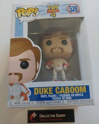 Funko Pop! Disney 529 Toy Story 4 Duke Caboom Pixar Pop Vinyl Figure FU37397