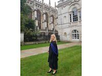 English, French & Irish Tutor | Cambridge Graduate