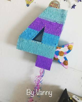 Piñata Little Mermaid 4](Little Mermaid Pinatas)