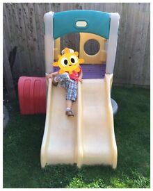 """Little Tikes"" Twin Slide Tunnel Climber - £70"