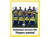 Rotherham hornets GFC U14 Signing New players!!