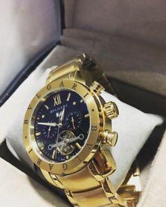 Bvlgari chronograph men's high quality watch