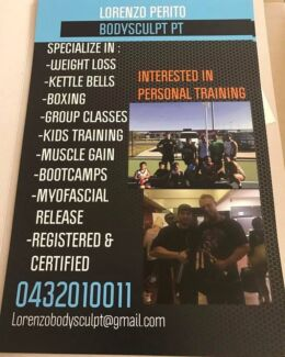 Looking for Results Personal Trainer / Coach