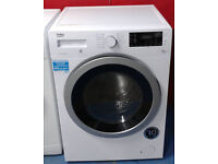 b473 white beko 8kg&5kg 1400spin washer dryer comes with warranty can be delivered or collected