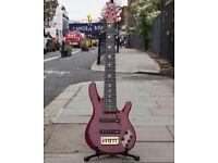 Yamaha JP2 6 String Bass, Translucent Red. Brand New.