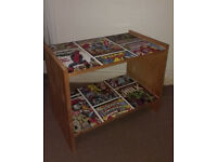 PINE 2 SHELF UNIT COVERED IN MARVEL DESIGN – W52 X D31 X H41CM - £8